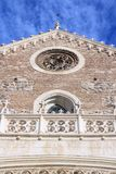Madrid Gothic church Royalty Free Stock Image