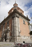 Madrid - San Anderew kyrka Arkivfoto