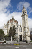 Madrid - Iglesia de San Manuel y San Benito. From 19. cent. in March 9, 2013 in Madrid stock photos
