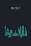 Madrid stock illustration