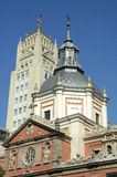 Madrid-Kirche Stockfotografie