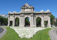 Madrid landmark Stock Photography