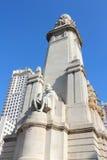 Madrid landmark Royalty Free Stock Photos