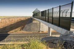 Madrid-Levante High-speed rail Stock Photos