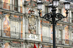 Madrid - Mayor da plaza Fotografia de Stock Royalty Free