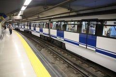 Madrid metro royalty free stock photography