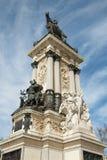 Madrid - monumento de Alfonso XII en el parque de Buen Retiro Fotografía de archivo
