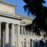 Madrid, Museum Prado royalty-vrije stock foto