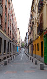 Madrid narrow alley 02 Royalty Free Stock Photography