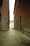 Madrid narrow alley Stock Image