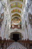 Madrid - Nave and chorus of Almudena cathedral Royalty Free Stock Photos