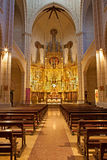 Madrid - Nave of church Santa cruz Royalty Free Stock Image