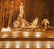 Madrid - Neptune fountain Royalty Free Stock Images