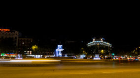 Madrid by night Stock Images
