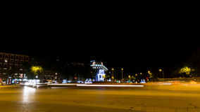 Madrid by night Royalty Free Stock Photo