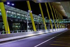 Madrid, nuovo terminale Fotografia Stock Libera da Diritti