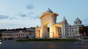 Puerta de San Vicente Madrid Stock Image