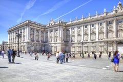 madrid pałac królewski Obraz Stock