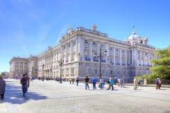 madrid pałac królewski Obrazy Stock
