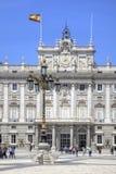 madrid pałac królewski Zdjęcie Stock