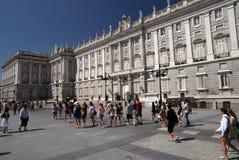 Madrid palace Royalty Free Stock Image
