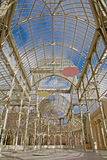 Madrid - Palacio de Cristal or Crystal Palace Royalty Free Stock Photos
