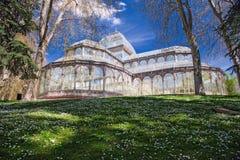 Madrid, Palacio de Cristal. In the Parque de El Retiro Stock Photo
