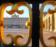 Madrid Palacio de Oriente monument Stock Photo