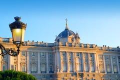 Madrid Palacio de Oriente monument Royalty Free Stock Photo