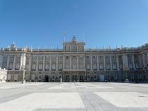 madrid palacio verkliga spain Arkivfoto