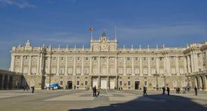 madrid palacio verkliga spain Royaltyfri Foto