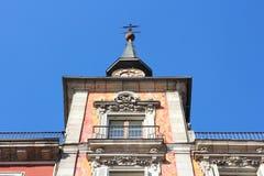 Madrid - palazzo di Panaderia Immagini Stock
