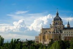 Madrid - palazzo reale Immagine Stock