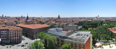 Madrid panorama stock images