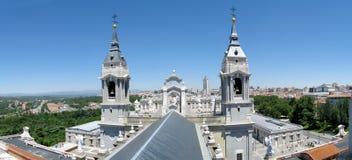 Madrid panorama Royalty Free Stock Image