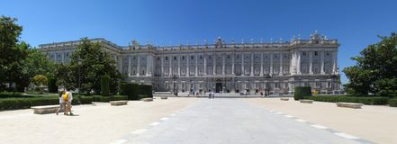 Madrid panorama Royalty Free Stock Photos