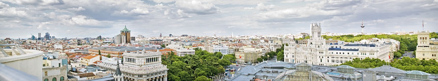 Madrid panoramical view Stock Image