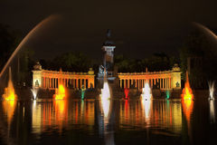 Madrid park Buen-Retiro Stock Photos