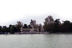 Madrid park Royalty Free Stock Images