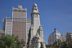 Madrid, Plaza de Espana Immagini Stock Libere da Diritti