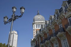Madrid, Plaza de Espana Royalty Free Stock Image