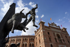 Madrid Plaza de Toros Royalty Free Stock Photos
