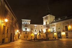 Madrid - Plaza de Villa a Royalty Free Stock Images