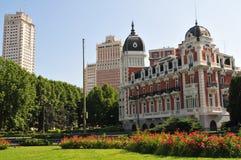 Madrid - plaza Espana Fotos de archivo libres de regalías