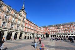 Free Madrid - Plaza Mayor Royalty Free Stock Photography - 120656437