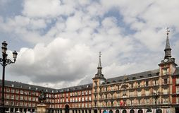 Madrid , Plaza Mayor Stock Photography