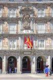Madrid. Plaza Mayor. Bakery Casa de la Panaderia Stock Image
