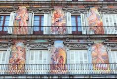 Madrid - Plaza Mayor Bakery House Royalty Free Stock Image