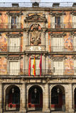 Madrid, Plaza Mayor, Facade of Casa de la Panaderia Royalty Free Stock Image