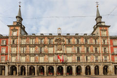 Madrid, Plaza Mayor, Facade of Casa de la Panaderia Royalty Free Stock Photography